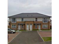 2 bed upper cottage flat close to M8, Salsburgh, North lanarkshire
