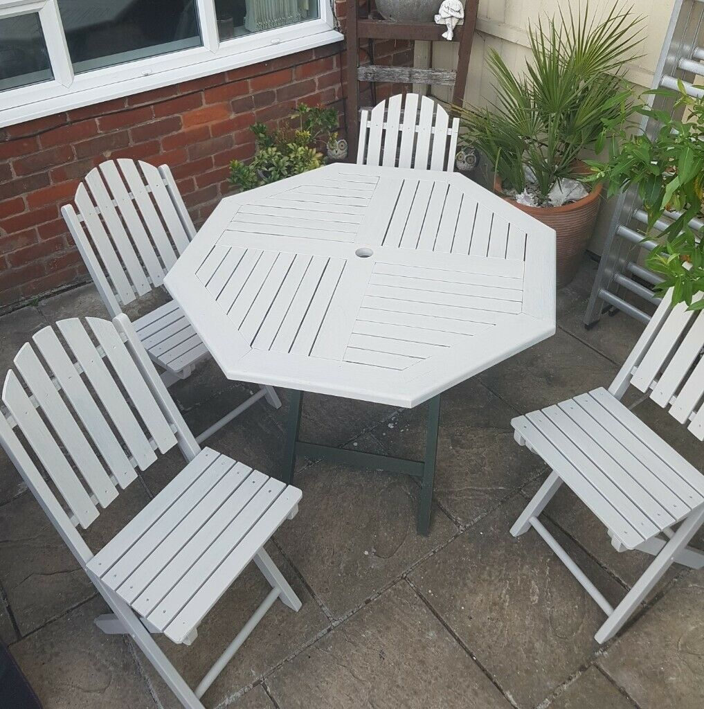 Fantastic Garden Table And Four Chairs In Bromley London Gumtree Pdpeps Interior Chair Design Pdpepsorg