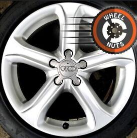"17"" Genuine Audi A4 Techniks alloys excel cond excel tyres Renault Trafic Vauxhall Vivaro."