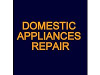 No call out fee . washing machine, dishwasher, tumble dryer, electric oven repair £47