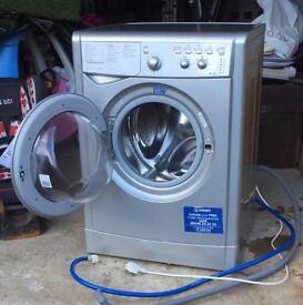Silver Indesit 6kg Washing Machine - Delivery Available
