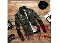 Army shirt brand new large