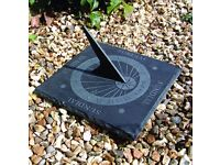 Greenkey Natural Square Slate Sundial (31cm)