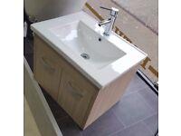 Wall Mounted Bathroom Vanity Unit