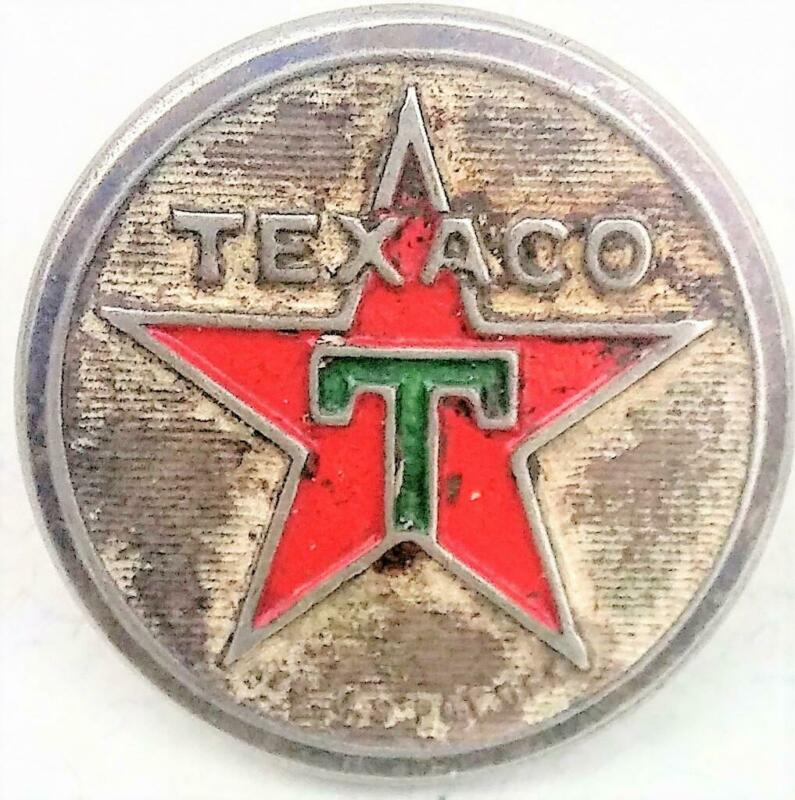TEXACO Attendant Uniform Vintage Button Rare Made by Harding of Boston