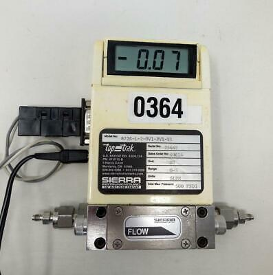 Sierra Instruments Nitrogen Flow Meter 822s-l-2-ov1-pv1-v1 W Ps Ships Today