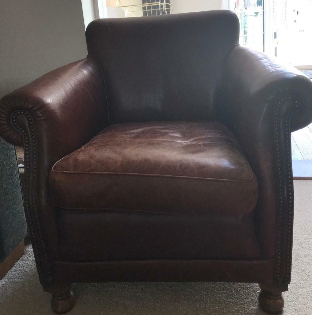Strange Shabby Chic Leather Chair Ideal For A Project In Tiverton Devon Gumtree Machost Co Dining Chair Design Ideas Machostcouk