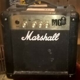 Marshall MG10 10w practice amplifier £45
