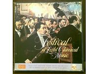 FESTIVAL OF LIGHT CLASSICAL MUSIC 1960 12 LP BOX SET