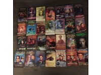 170 Star Trek books.