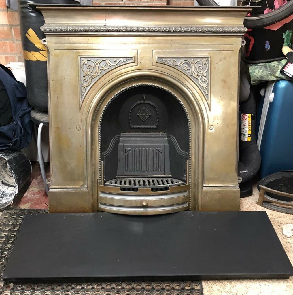 Cast Iron Fireplace And Solid Slate Hearth In Wollaton