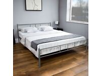Small double metal bedframe 4FT