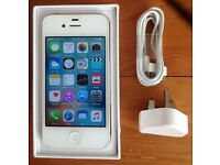 iPhone 4S - Looks Like New - Unlocked - Any Network - 8GB - White - Fixed Price