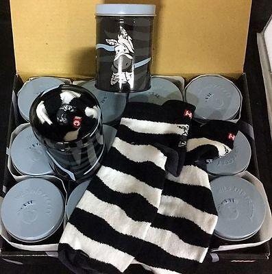 "POSTEN NICI 144 Paar Socken in Blechdose ""Zebra Wild Friends"" -Neuware- OVP"