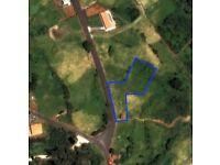 Flat Terrain with a small barn - Achadas da Cruz, Madeira Island