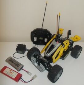 LEGO 8369 DIRT CRUSHER RC CAR REMOTE YELLOW RACERS 3 BATTERIES REMOTE CHARGER