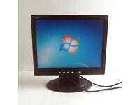 Acer (AL1511) - 15 Inch Monitor + VGA lead (VGA, Desktop PC, Graphics Card, Apple, LCD, TFT)