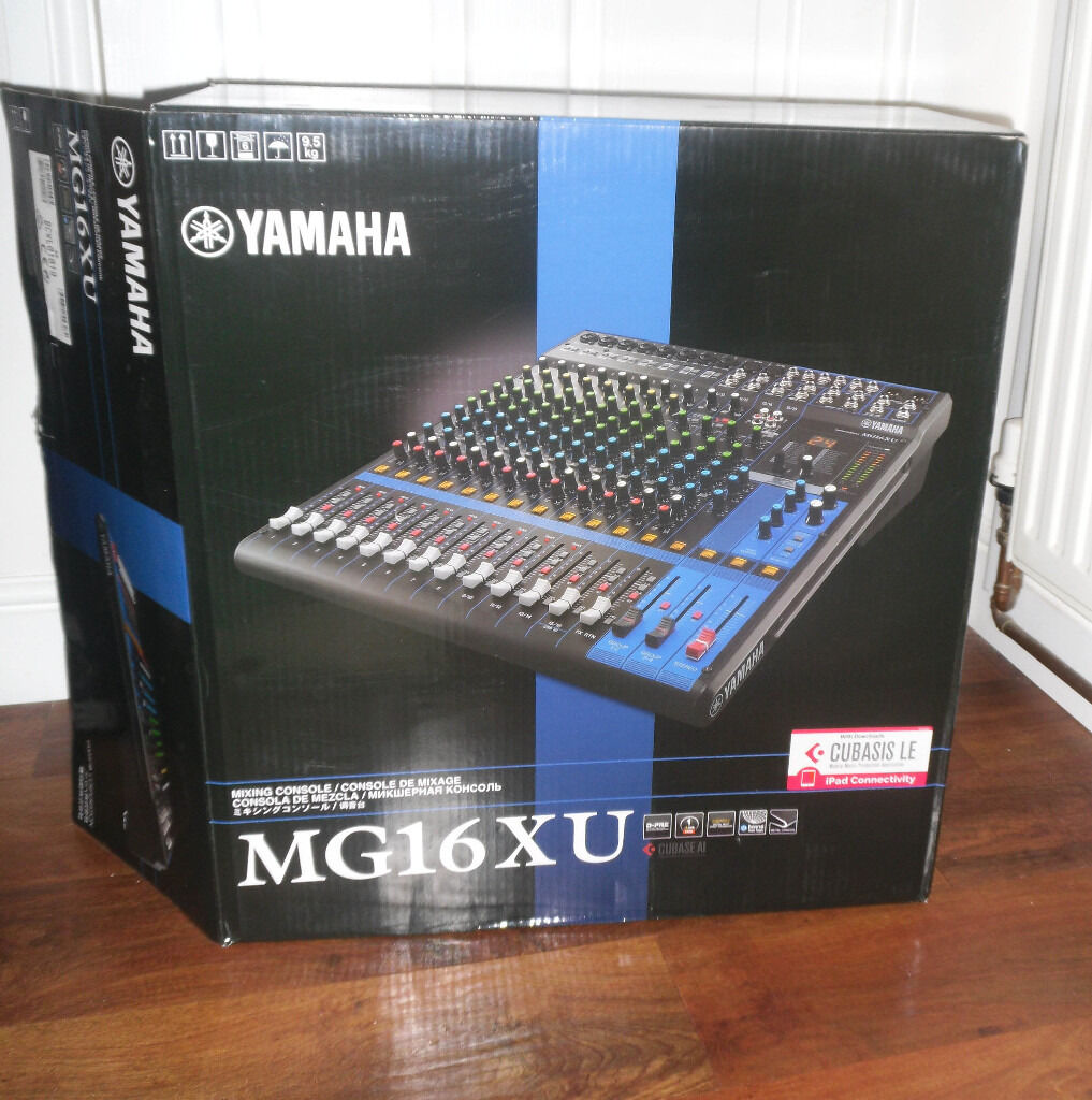 Yamaha Mg16xu Mixer With Usb Audio In Garston Merseyside Gumtree