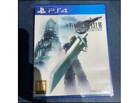 final fantasy 7 remake ps4 ps5 Playstation 4 / 5 Game *immaculate condition *