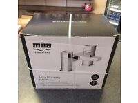 Mira Honesty Chrome Bath Mixer Tap rand New in Factory Sealed Box