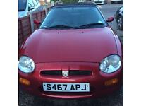 Convertible MGF 1.8 VVC night fire red