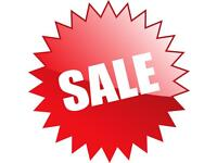 Stock clearance glitter items