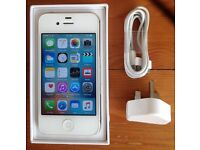 iPhone 4S - Looks Like New - 16GB - White - Unlocked - Any Network - Fixed Price