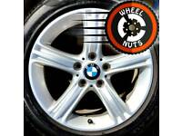 "17"" Genuine BMW alloys Renault Trafic Vauxhall Vivaro perfect cond excel tyres"
