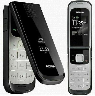 Nokia 2720 Fold - Black (Unlocked) Mobile Phone