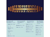 Fitness classes with a personal trainer Headhuntress Warrior Results