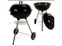 Round kettle barbecue