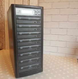 U-Reach 1-7 Target CD DVD Copier Duplicator LITEON eSATA Tower. No PC required. MINT CONDITION!