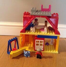 CHILDRENS LARGE BRIO LEGO HOUSE - 2yrs +