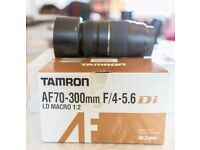 Tamron AF70-300mm f/4-5.6 Di LD macro 1:2 for Canon, for Repairs or Spares