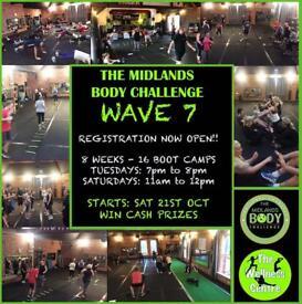 Midlands body challenge