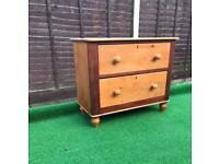 Pine chest of drawers Victorian pine