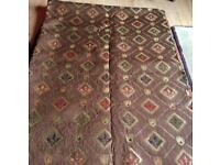 Quality upholstery fabric, unused, gold thread