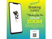 Virtual Street Dance Classes Live On ZOOM