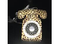 Leopard Print House Phone From NEXT