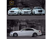 Chauffeur Car Hire WEDDINGS, Airports/Evenings - Midlands