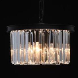 Jancis 3-Light Crystal Chandelier