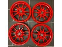 Alloy wheels. Redline alloys wheels by boss. Refurbished.