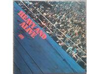 """HEAVY AND ALIVE 12"""" Vinyl Record Compilation LP Album - Jazz 1972"""