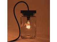 Retro Biscuit Jar Lamp