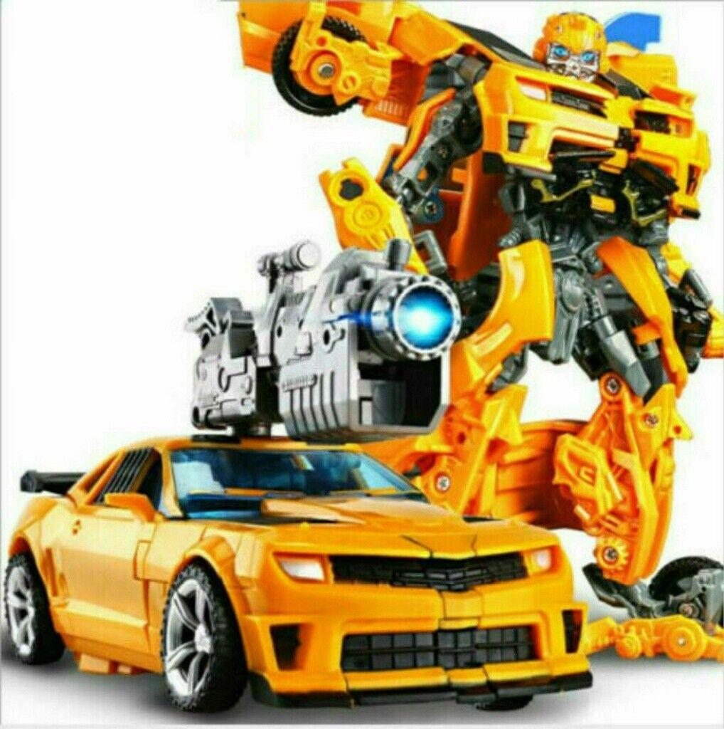 New Transformers Optimus Prime Truck Transformation Bumblebee Spielzeug Kinder~