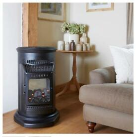 CANTERBURY CH 300 INDOOR FLAME EFFECT CABINET GAS HEATER