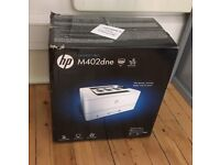 Brand New In Box HP LaserJet Pro M402dne B&W Duplex Network printer -collection Glasgow City centre