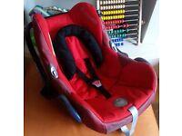 Maxi Cosi Cabriofix Baby Car Seat in Red