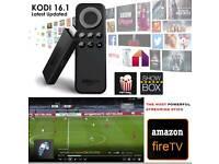 AMAZON FIRE STICK (KODI 16.1) FULLY LOADED * MOBDRO * MOVIES * SPORTS * TV