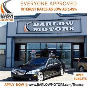 2007 Mercedes-Benz S-Class S550*EVERYONE APPROVED* APPLY NOW DRI